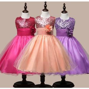 可愛さが溢れるワンピースドレス!子供服 フォーマルワンピース 入学式 発表会 卒業式 結婚式 ワンピース ドレス パーティー 女の子 キッズ 可愛い お姫様|kingcity-shjp