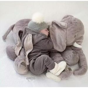 欧米SNSで大人気!ゾウ リアルぬいぐるみ アフリカゾウ 象 抱き枕 インテリア 子供 おもちゃ ふわふわで癒される プレゼント「ブランケットなし」|kingcity-shjp|02