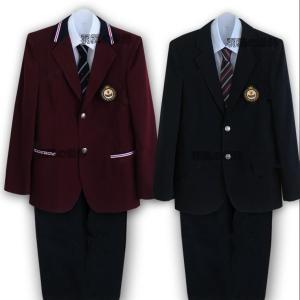 男の子スーツ 上下セット 卒業式 入学式 プリーツズボン テーラードジャケット 5点セット 長袖 男子高校生 制服 学生服 キュート スクール 5点セット 学生制服|kingcity-shjp