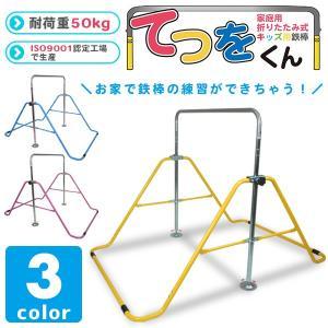 折りたたみ式鉄棒 てつをくん 子ども用###折畳み鉄棒XK-022☆###