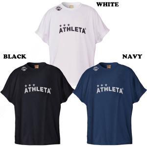 練習着、移動着、普段着とオールラウンドな快適プラTシャツです。  ポリエステル100%(スムースニッ...