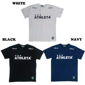 ATHLETA アスレタ 定番ロゴTシャツ(全3色)03015M FUTSAL フットサル|kingkong