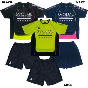 SVOLME スボルメ プラシャツ プラパン 上下セット(全6色)171-28800 FUTSAL フットサル|kingkong