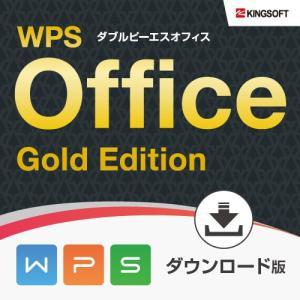 Microsoft Office 互換性抜群 キングソフト WPS Office Gold Edit...