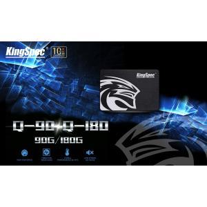 新品180GB KingSpec 2.5インチ SSD [Q-180] (3D TLC/ SATA600/ 7mm)
