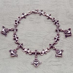 Barbara(バーバラ) ブレスレット Gathering Petit Barbara Iron Cross Bracelet PB-B-302|kingsroad