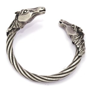 Gaboratory(ガボラトリー) Horse heads cable wire bangle /swbr002|kingsroad