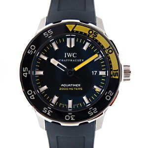 IWC インターナショナルウォッチカンパニー アクアタイマー IW356802 SS ラバー 2000m防水 新品|kingsroad