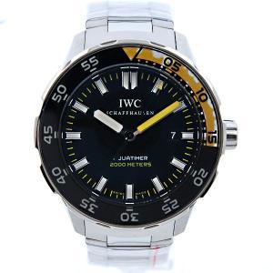 IWC インターナショナルウォッチカンパニー アクアタイマー IW356801 SS 自動巻 2000m防水 新品|kingsroad