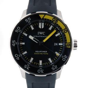 IWC インターナショナルウォッチカンパニー アクアタイマー IW356810 SS ラバー 2000m防水 新品|kingsroad