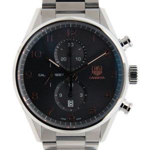 タグホイヤー TAG HEUER カレラ グランドデイト キャリバー8 GMT WAR5012.BA0723 アントラサイト 新品|kingsroad