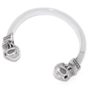 TRAVIS WALKER(トラヴィスワーカー) Skull Bangle w/S.S Triangle  BGS-C TRUNK SHOWアイテム|kingsroad