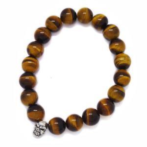 TRAVIS WALKER(トラヴィスワーカー) Yellow Tiger Stone Bead Bracelet SBC009/イエロータイガーストーンビーズブレスレット|kingsroad
