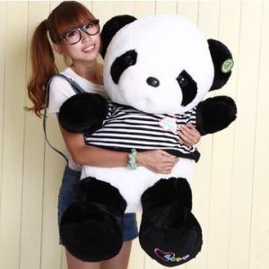 パンダ ぬいぐるみ 巨大 縫ぐるみ panda 動物 おもちゃ 50cm  大きい ぬいぐるみ 特大 シロパンダ ふわふわ 誕生日 クリスマス 彼女 贈り物 送料無料|kingyu-jpshop