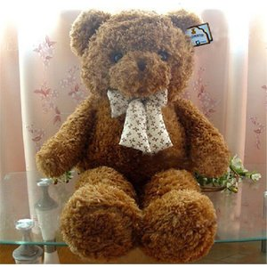 テディベア ぬいぐるみ 巨大 くま 特大 縫い包み クマ 100cm 動物 可愛い抱き枕 誕生日 プレゼント ぬいぐるみ 大きい 熊 手触りふわふわ クリスマス 送料無料|kingyu-jpshop