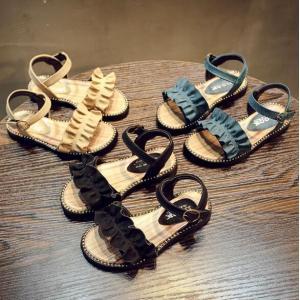 子ども サンダル 女の子 カジュアル キッズシューズ 可愛い サンダル フォーマル靴 結婚式 発表会 お出かけ 通園 通学 子供靴 おしゃれ ジュニア 15.8-22cm|kingyu-jpshop|02
