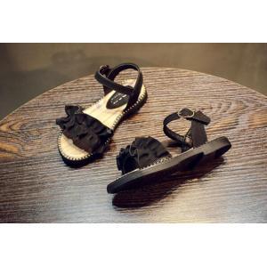 子ども サンダル 女の子 カジュアル キッズシューズ 可愛い サンダル フォーマル靴 結婚式 発表会 お出かけ 通園 通学 子供靴 おしゃれ ジュニア 15.8-22cm|kingyu-jpshop|14