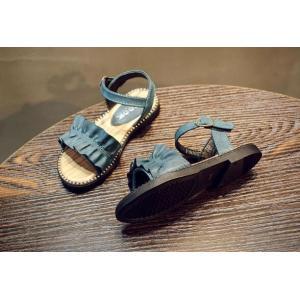 子ども サンダル 女の子 カジュアル キッズシューズ 可愛い サンダル フォーマル靴 結婚式 発表会 お出かけ 通園 通学 子供靴 おしゃれ ジュニア 15.8-22cm|kingyu-jpshop|17