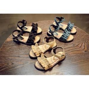 子ども サンダル 女の子 カジュアル キッズシューズ 可愛い サンダル フォーマル靴 結婚式 発表会 お出かけ 通園 通学 子供靴 おしゃれ ジュニア 15.8-22cm|kingyu-jpshop|08