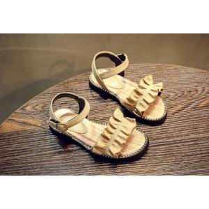子ども サンダル 女の子 カジュアル キッズシューズ 可愛い サンダル フォーマル靴 結婚式 発表会 お出かけ 通園 通学 子供靴 おしゃれ ジュニア 15.8-22cm|kingyu-jpshop|09