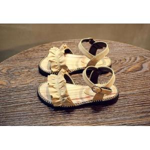 子ども サンダル 女の子 カジュアル キッズシューズ 可愛い サンダル フォーマル靴 結婚式 発表会 お出かけ 通園 通学 子供靴 おしゃれ ジュニア 15.8-22cm|kingyu-jpshop|10
