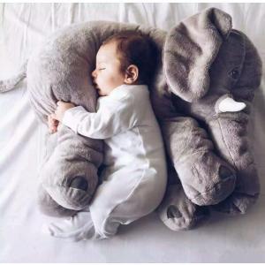 ぞう ぬいぐるみ SNS アフリカゾウ 象 抱き枕 インテリア 子供 おもちゃ 特大 動物 可愛い ふわふわで癒される 柔らか 心地いい プレゼント 60cm|kingyu-jpshop