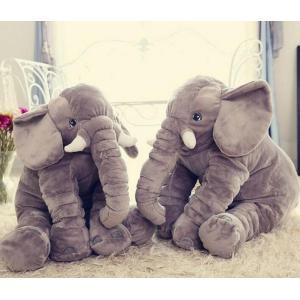 ぞう ぬいぐるみ SNS アフリカゾウ 象 抱き枕 インテリア 子供 おもちゃ 特大 動物 可愛い ふわふわで癒される 柔らか 心地いい プレゼント 60cm|kingyu-jpshop|02