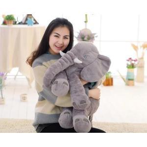 ぞう ぬいぐるみ SNS アフリカゾウ 象 抱き枕 インテリア 子供 おもちゃ 特大 動物 可愛い ふわふわで癒される 柔らか 心地いい プレゼント 60cm|kingyu-jpshop|03