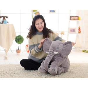 ぞう ぬいぐるみ SNS アフリカゾウ 象 抱き枕 インテリア 子供 おもちゃ 特大 動物 可愛い ふわふわで癒される 柔らか 心地いい プレゼント 60cm|kingyu-jpshop|04