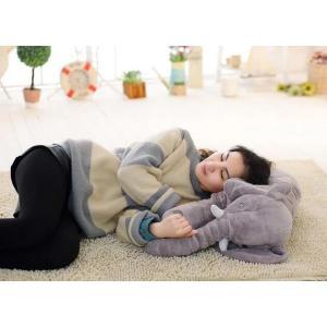 ぞう ぬいぐるみ SNS アフリカゾウ 象 抱き枕 インテリア 子供 おもちゃ 特大 動物 可愛い ふわふわで癒される 柔らか 心地いい プレゼント 60cm|kingyu-jpshop|05