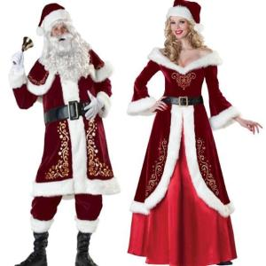 サンタクロース コスプレ クリスマス サンタ 衣装 サンタ コスプレ 男性 女性用 パーティー 変装 Xmas メンズサンタ 仮装 サンタクロース サンタコスチューム kingyu-jpshop
