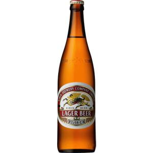 キリンラガー 500ml瓶 1本 麒麟麦酒 キリンビール|kinko-alliq-syokuhin