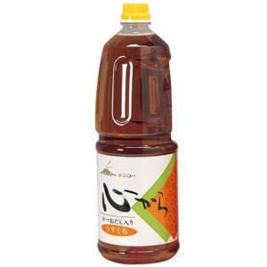 キンコー醤油 心から淡口しょうゆ   1.8L [おはらみそ本舗/うすくち醤油/鹿児島]  あすつく|kinko-alliq-syokuhin