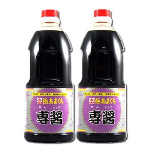 ヒシク  極甘口 専醤 1L×2本 [藤安醸造/濃口醤油/鹿児島]