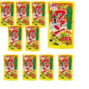 長崎ちゃんぽんスープ ワァン 80g2人前×10袋 ニビシ醤油|kinko-alliq-syokuhin