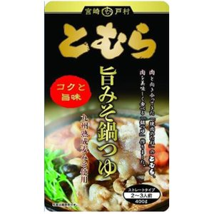 戸村 旨みそ 鍋つゆ 400g(2〜3人前)|kinko-alliq-syokuhin