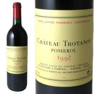 シャトー・トロタノワ 1992 750ml ポムロール kinko-wine