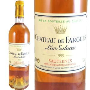 シャトー・ド・ファルグ 1999 750ml 貴腐ワイン ソーテルヌ|kinko-wine
