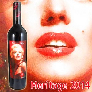マリリンワイン マリリン・モンロー メリタージュ 2014 750ml赤 カリフォルニアワイン kinko-wine