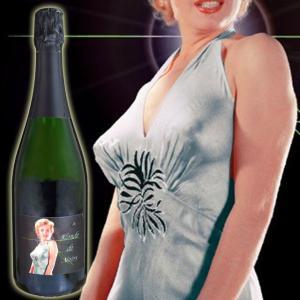 マリリンワイン ブロンド・ノワール キュヴェ11 750ml白泡 マリリン・モンロー kinko-wine