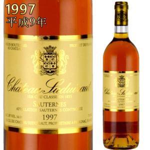 シャトー・スデュイロー 1997 750ml 貴腐ワイン ソーテルヌ 格付1級|kinko-wine