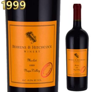 ベーレンス&ヒッチコック メルロー 1999 750ml赤 カリフォルニアワイン|kinko-wine