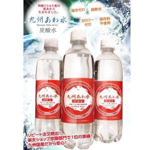 炭酸水 九州あわ水 500mlペットボトル 1本 ソーダの商品画像