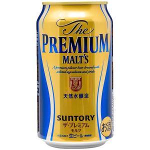 ザ・プレミアム・モルツ 缶 350ml の商品画像|ナビ