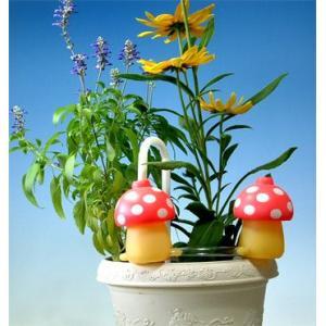 植木鉢の自動給水は給水きのこちゃんピンク2個セット|kinkobay
