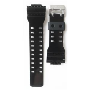 ■GA-110B-1A2JF用バンド ・ウレタン樹脂製 ・美錠:シルバー  【共通バンドモデル】 ※...