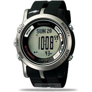 SOMA(ソーマ) 50 腕時計 / DWJ81-0001 デジタルコンパス、高度計、50ラップメモリー、水分補給アラームなど、多くの機能を搭載。|kinkodo
