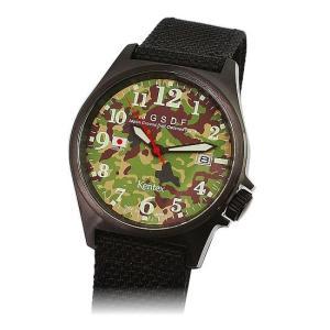 陸上自衛隊腕時計 カモフラージュモデル|kinkodo