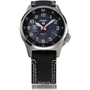 航空自衛隊 ソーラー腕時計 S715M-02|kinkodo