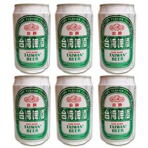 台湾 お土産 お酒  台湾ビール ゴールド (缶) 330ml 6本  kinmenbaystore